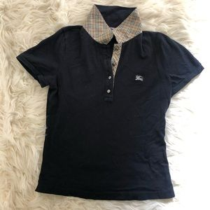 Burberry London Blue Label Navy Polo